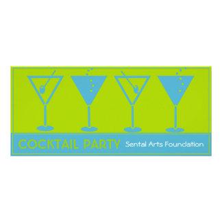 Convite do Partido-Fundraiser do cocktail 10.16 X 22.86cm Panfleto