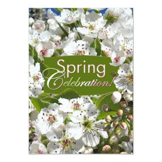 Convite do piquenique da celebração do primavera