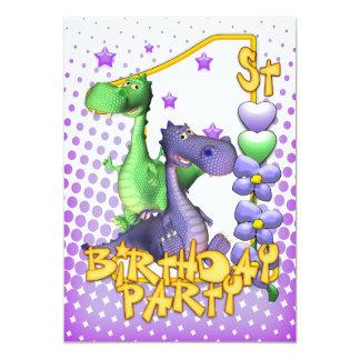 Convite do primeiro aniversario