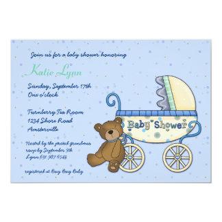 Convite do urso da carruagem