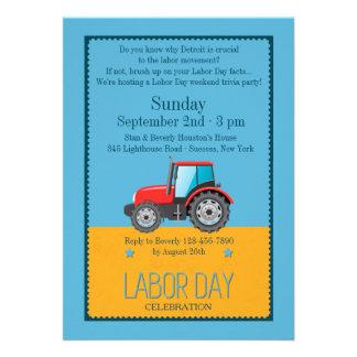Convite do veículo do Dia do Trabalhador