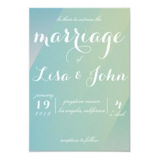 Convite elegante do casamento do inclinação
