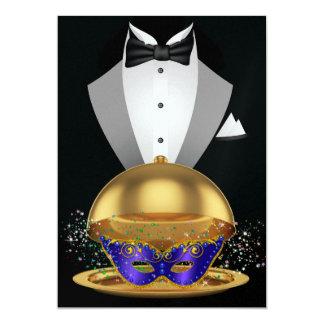 Convite elegante do mascarada/carnaval