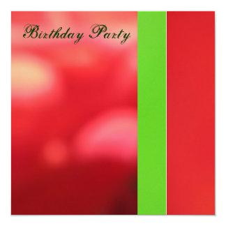 Convite - festa de aniversário - de múltiplos