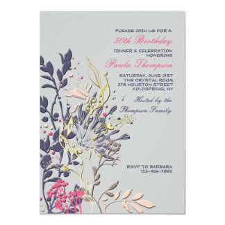 Convite floral Showy