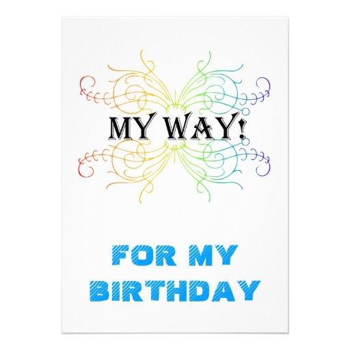 CONVITE, FOR MY BIRTHDAY