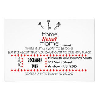 Convite Home doce Home