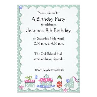 Convite lunático do aniversário do miúdo
