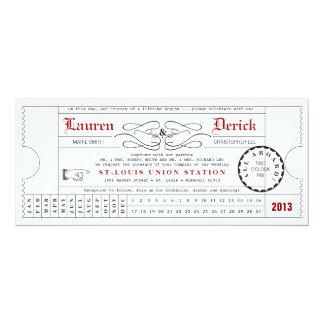 Convite original do comprimento do chá do cartão