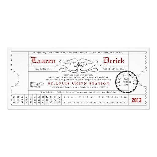 Convite original do comprimento do chá do cartão d