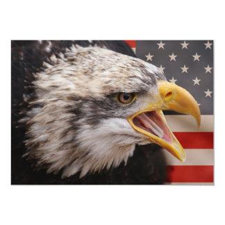 Convite patriótico de Eagle