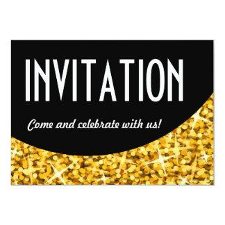 """Convite preto do """"convite"""" da curva do """"ouro"""" do"""