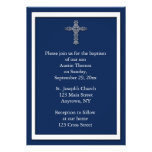 Convite religioso dos azuis marinhos