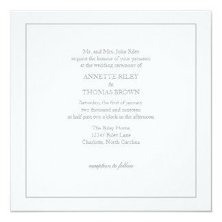 Convite | simplesmente |wgry do casamento