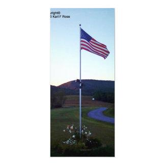 Convites da bandeira americana