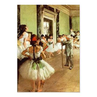 Convites da classe de dança convite 12.7 x 17.78cm