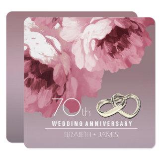 convites da festa de aniversário do casamento do