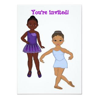 Convites da festança do aniversário da bailarina