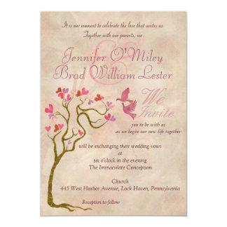 Convites da foto do casamento