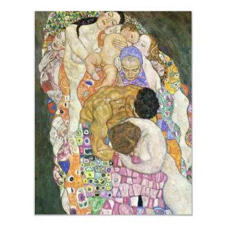 Convites da vida e da morte de Gustavo Klimt