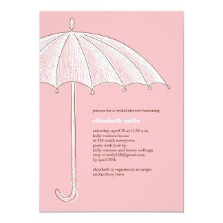Convites de festas cor-de-rosa do chá do