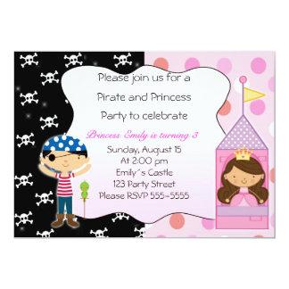 Convites de festas da princesa aniversário de