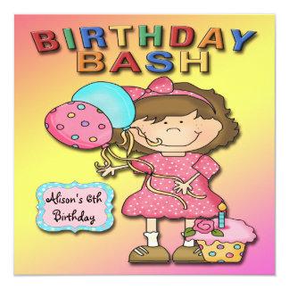 Convites de festas de aniversários da menina da