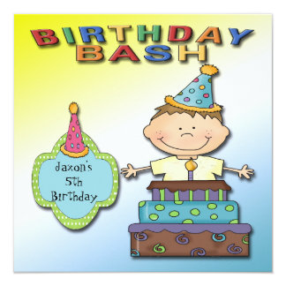 Convites de festas de aniversários do menino da