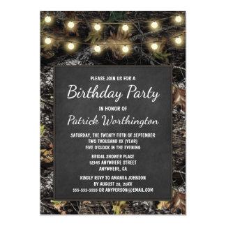 Convites de festas de aniversários do quadro de