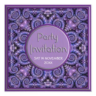 Convites de festas de aniversários exóticos das