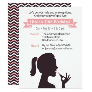 Convites de festas de aniversários femininos da