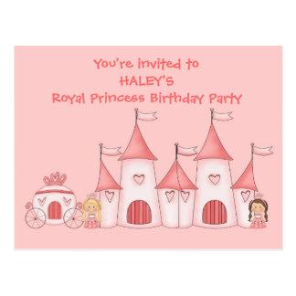 Convites de festas de aniversários personalizados  cartões postais