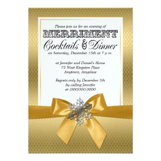Convites de festas do comensal do feriado da prata
