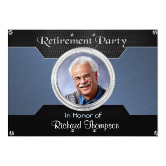 Convites de festas elegantes da aposentadoria da