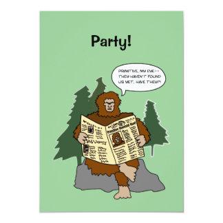 Convites de festas engraçados do costume dos