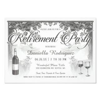Convites de festas supremos da aposentadoria do