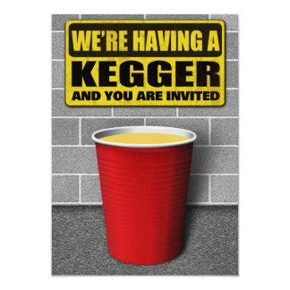 Convites de Kegger