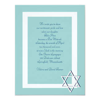 Convites de Mitzvah do bar/bastão
