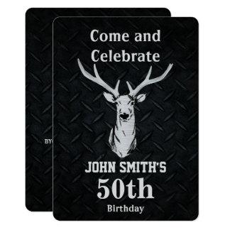Convites do aniversário dos homens rústicos da