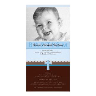 CONVITES DO BAPTISMO DA FOTO 5 puros Cartao Com Fotos