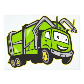 Convites do caminhão dos desperdícios