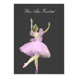 Convites do casamento da bailarina