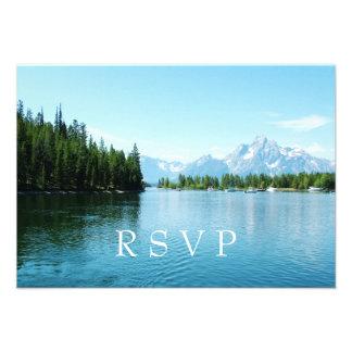 convites do casamento da fotografia RSVP da