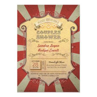 convites do chá dos casais do carnaval