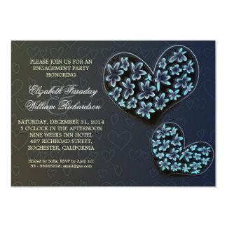 convites elegantes da festa de noivado