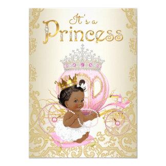 Convites étnicos da princesa chá de fraldas