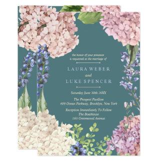 Convites Pastel clássicos do casamento do
