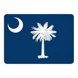 Convites patrióticos com bandeira de South