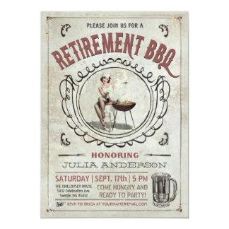 Convites v.2 do CHURRASCO da aposentadoria