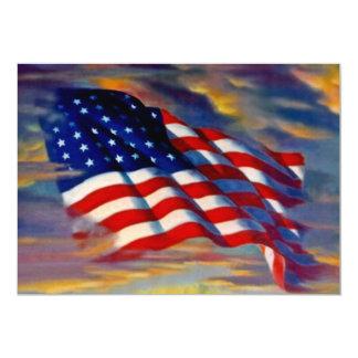 Convites vazios das nuvens de ondas da bandeira